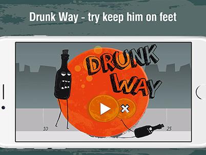 <!-- noindex -->Игра «Drunk Way»<!-- /noindex -->