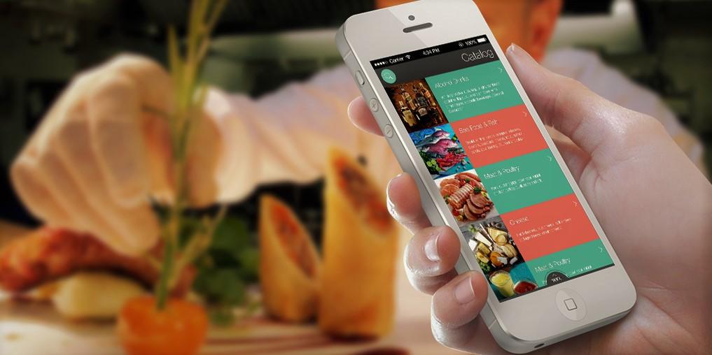 мобильное приложение для кафе